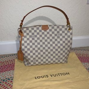 Louis Vuitton Graceful PM Damier azur rose 2019
